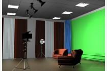 A2类:演播室抠像/实景拍摄+后期PPT插入或录屏